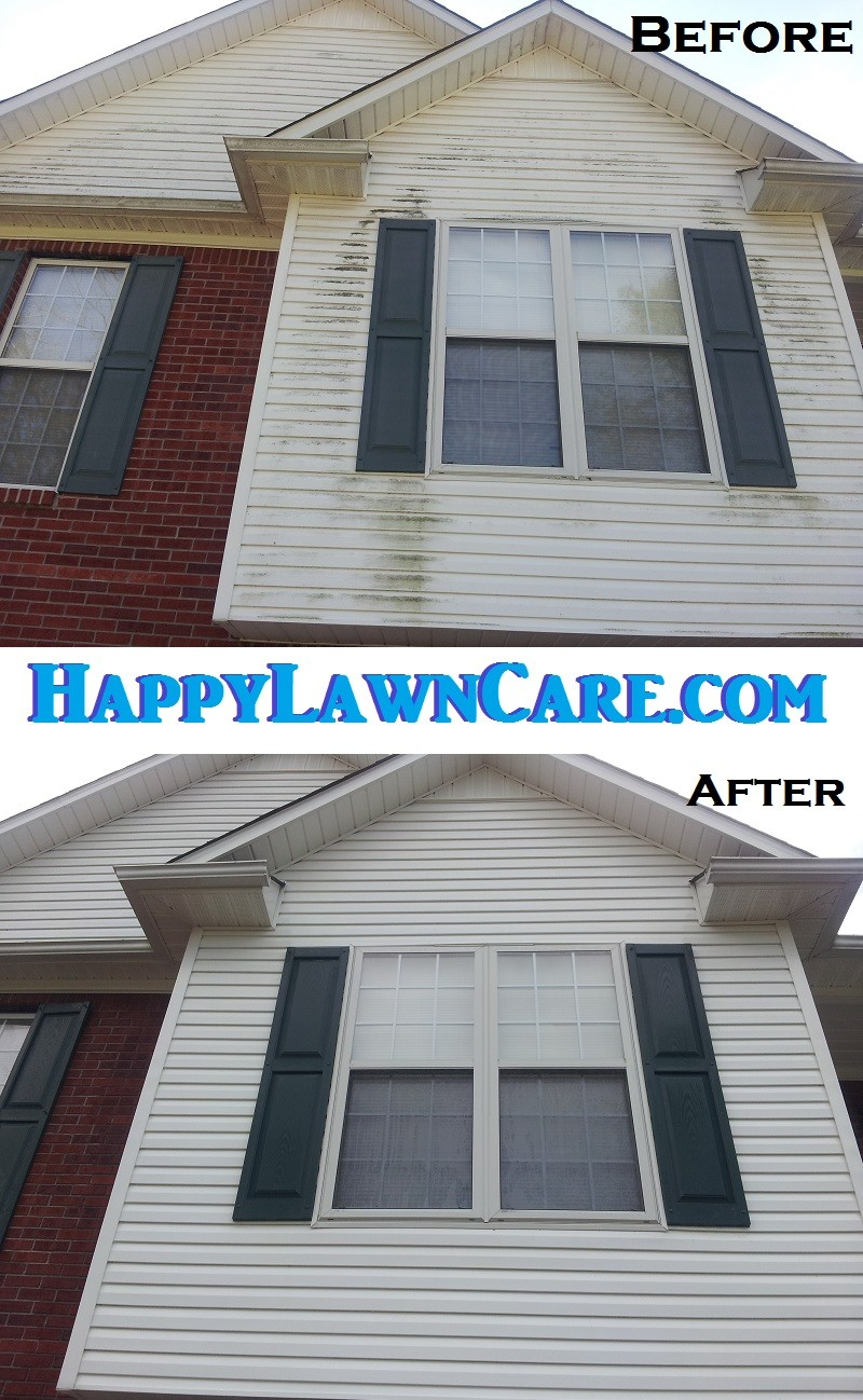 Pressure Washing Services In Tennessee ⋆ Happy Lawn Care